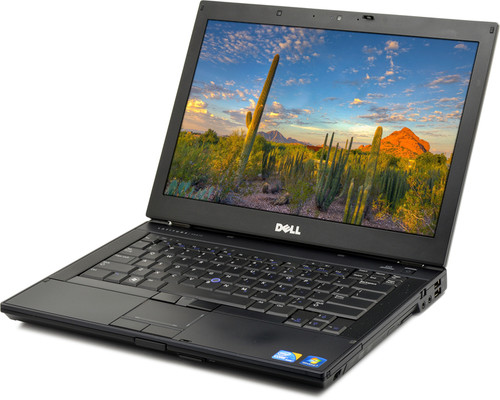 "Red Dell Latitude E6410 Core i5 Nvidia 14"" Win 7 Laptop Spots"