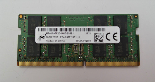 Micron 16GB PC4-2400T Dual Rank Laptop Memory