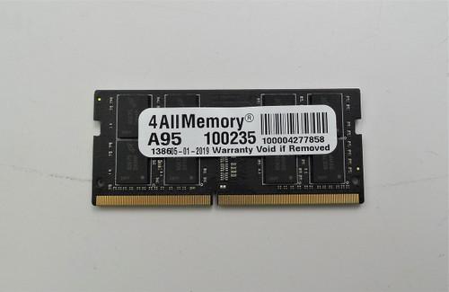 4 All Memory A95 16GB PC4-17000 Single Rank Laptop Memory
