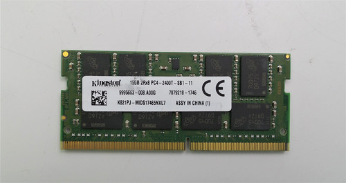 Kingston 16GB PC4-2400T DDR4 Laptop Memory