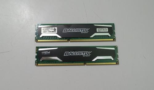Ballistix Sport 8GB (4GBx2) DDR3 1600MHz Memory Kit