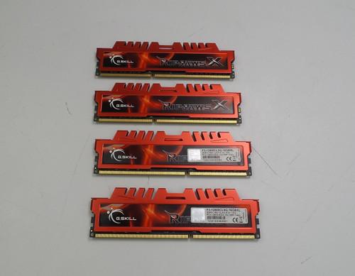 G.Skill RipjawsX 16GB (4 x 4GB) Desktop Memory Module