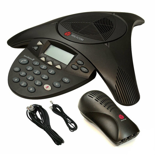 Polycom 2 SoundStation Conference Phone