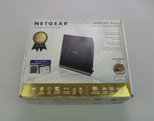 Netgear R6300 WiFi 802.11ac Dual Band Gigabit Router