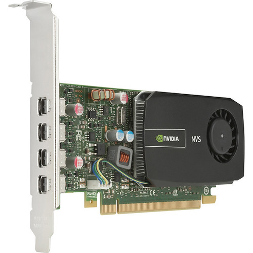 Nvidia Quadro NVS 510 2GB DDR3 VCNVS510ATX-T Half Height