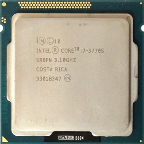 Intel Core i7-3770S 3.10Ghz Processor SR0PN