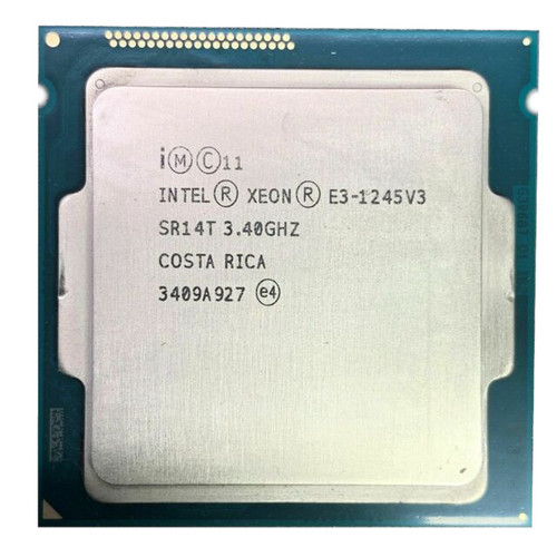 Intel Xeon E3-1245V3 3.40Ghz 4 CORE Processor SR14T