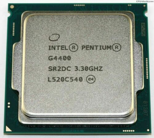 Intel Pentium G4400 3.30Ghz Processor SR2DC