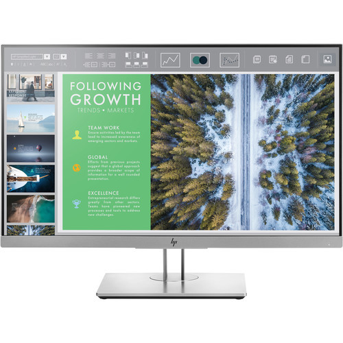 "HP EliteDisplay E243 1080p HDMI 24"" LED IPS Monitor Thumbnail"