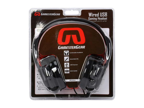 GamesterGear Cruiser PC210-I USB Wired Gaming Headset