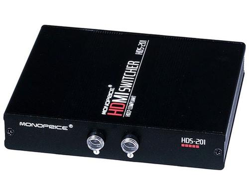 2 Port HDMI AV Switcher 1080P Box HDS-201