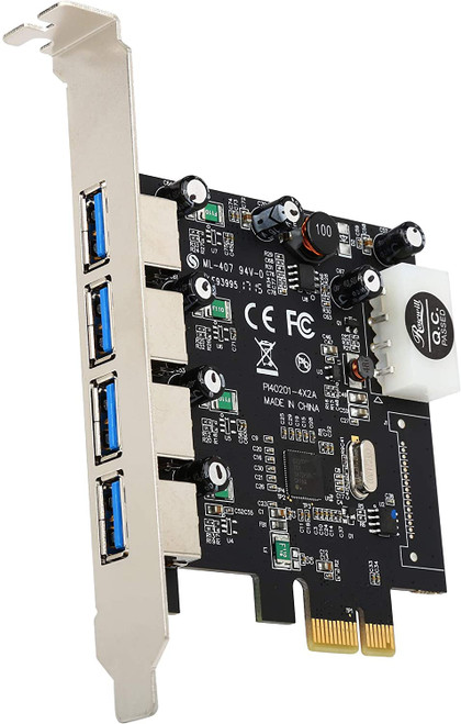 Rosewill 4-Port External USB 3.0 PCI Express Card