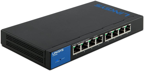 Linksys LGS308 8-Port Gigabit Ethernet Smart Switch