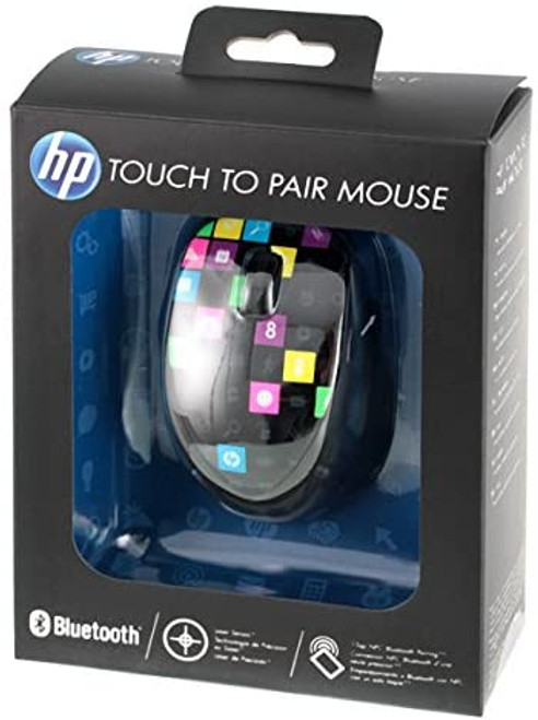 HP H4R81AA#ABA Touch to Pair Wireless Laser Mouse