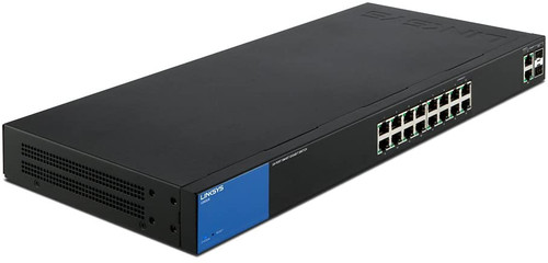 Linksys Business LGS318 16-Port Gigabit Smart Managed Switch