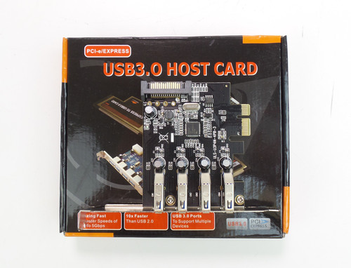 4 Port USB 3.0 PCI-e Express Card