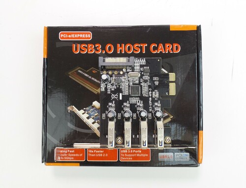 4 Port USB 3.0 PCI-e Express Card