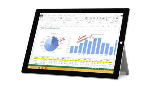 "Microsoft Surface Pro 3 i7-4650U SSD 12"" Windows 10 Tablet"