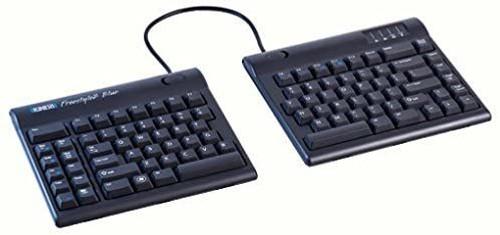 Kinesis Freestyle2 Blue Ergonomic Bluetooth Keyboard for Mac