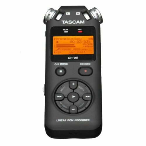 Tascam DR-05 Stereo Handheld Digital Audio Recorder