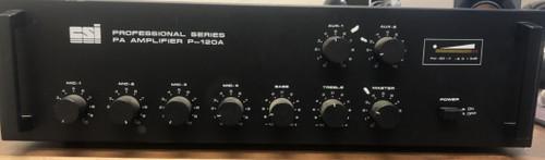 CSI Professional Series PA Amplifier P-120A Front Thumbnail