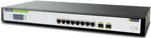 Luxul 8-Port Gigabit Ethernet Smart POE Switch XMS-1008P Thumbnail
