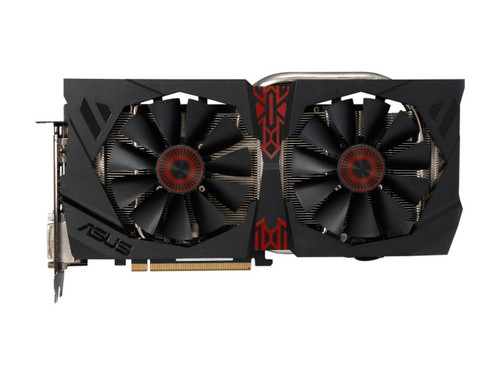 ASUS Radeon R9 285 Strix 2GB PCIe Video Card Thumbnail