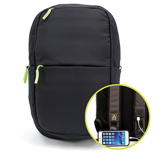 M-edge Tech Backpack with 6000 mAH Power Bank thumnail