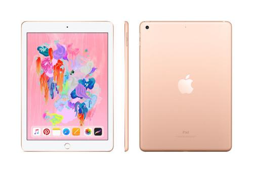 Apple iPad 6th Gen 128GB WiFi Only Gold thumbnail