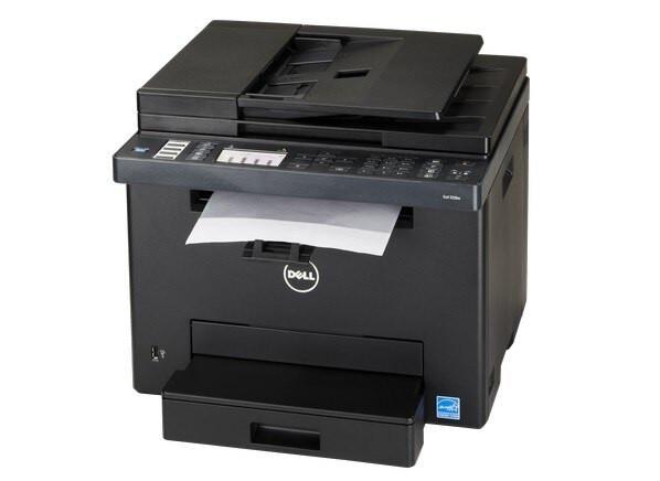 dell e525w wireless color laser printer all in one copier scanner. Black Bedroom Furniture Sets. Home Design Ideas