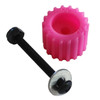PSD KoMotion FootStop, Hot Pink Comes with a nut, bolt, washer & 2 stickers
