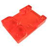 Tunnel Risers for eSk8 wire routing - Orange