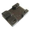 Tunnel Risers for eSk8 wire routing - Smoky Black
