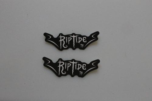 Black (R Riptide S) Stickers