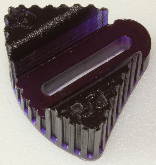 RipTide Sports I/O Mini FootStop, Purple Sold with a nut, washer, a bolt & 2 stickers