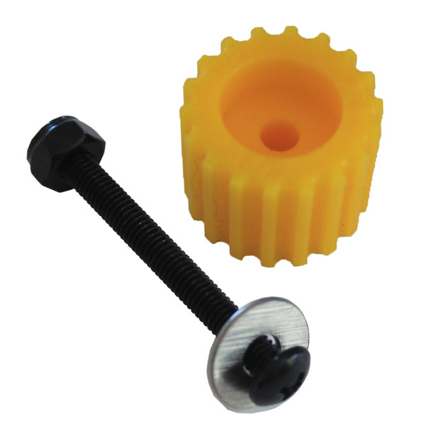 PSD KoMotion FootStop, Yellow Comes with a nut, bolt, washer & 2 stickers