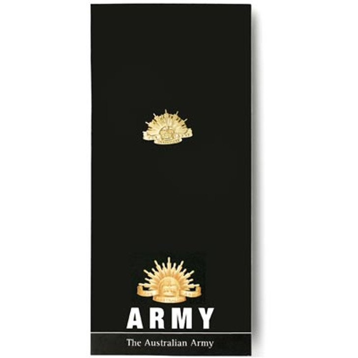 Army Lapel Pin On Card
