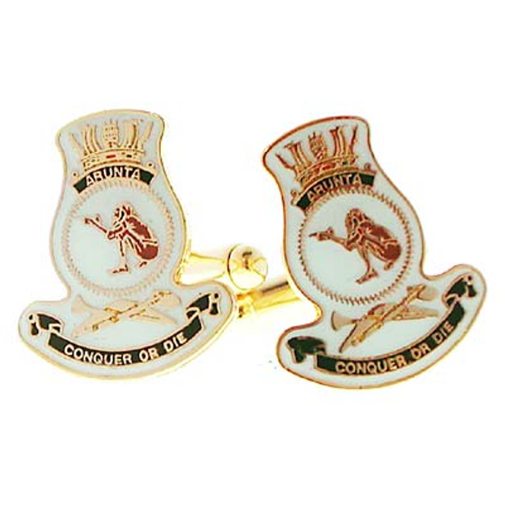 HMAS Arunta Cuff links