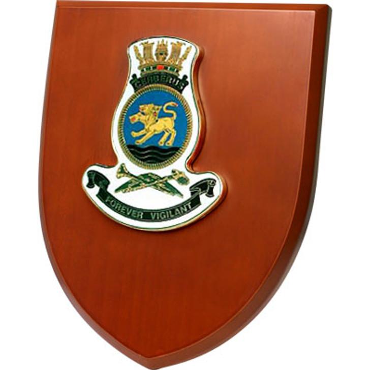 HMAS Cerberus Shield Plaque