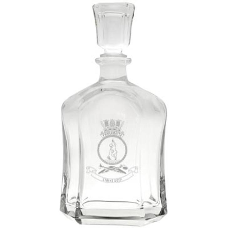 HMAS Parramatta Italian Glass Decanter