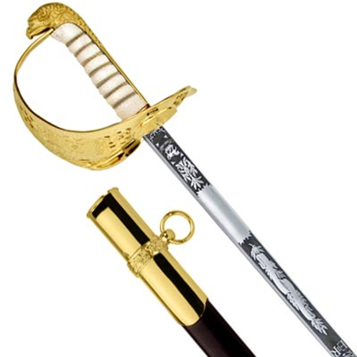 Air Force Sword with Below Air Rank Scabbard (Windlass S/Steel) – Mens