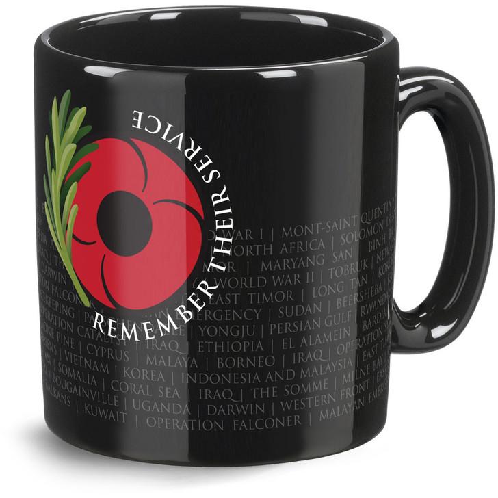 Remember Their Service Coffee Mug