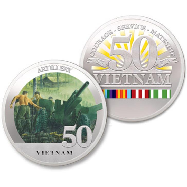 Artillery Vietnam 50th Ltd Edition Medallion