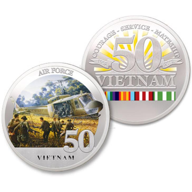 Air Force Vietnam 50th Ltd Edition Medallion