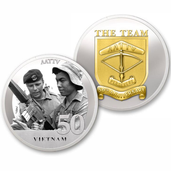 AATTV Vietnam 50th Ltd Edition Medallion
