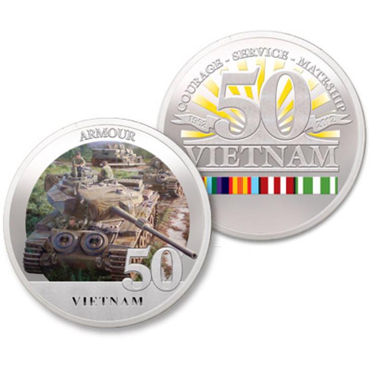 Armour Vietnam 50th Ltd Edition Medallion
