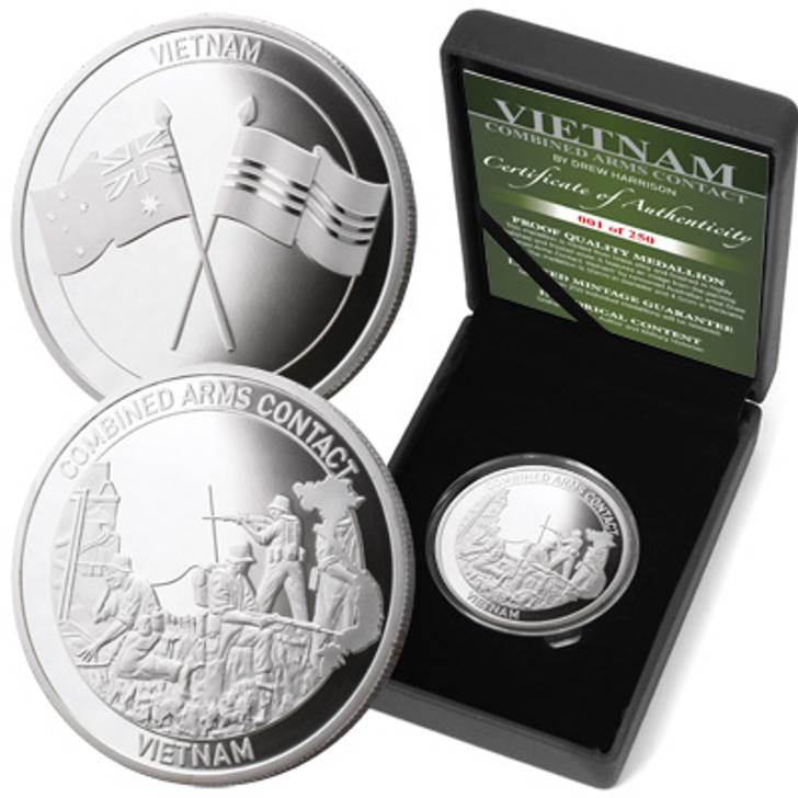 Ltd Ed Medallion CAC-Controlling the Fight