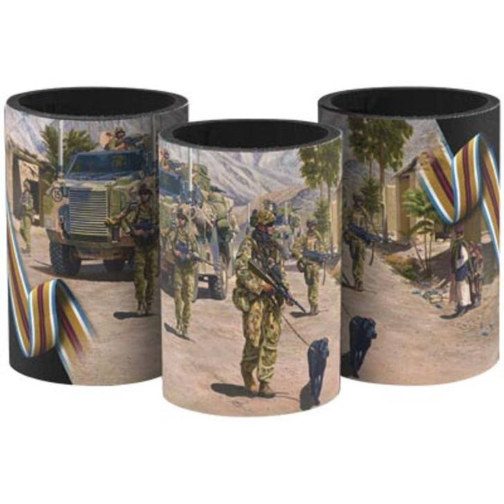 Afghanistan Campaign Artwork Drink Cooler