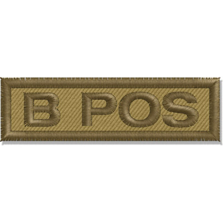 Contact Gear Blood Group Patch B Pos