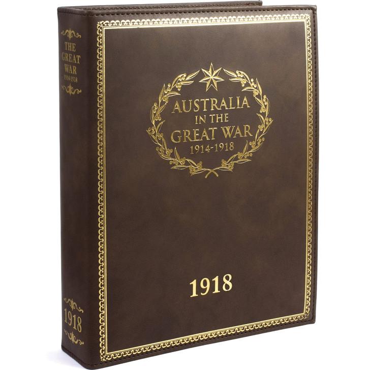 Great War 1918 Diary Binder